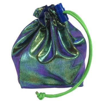 Scarab Holographic Dice Bag - Red King Co | Sunny Pair'O'Dice