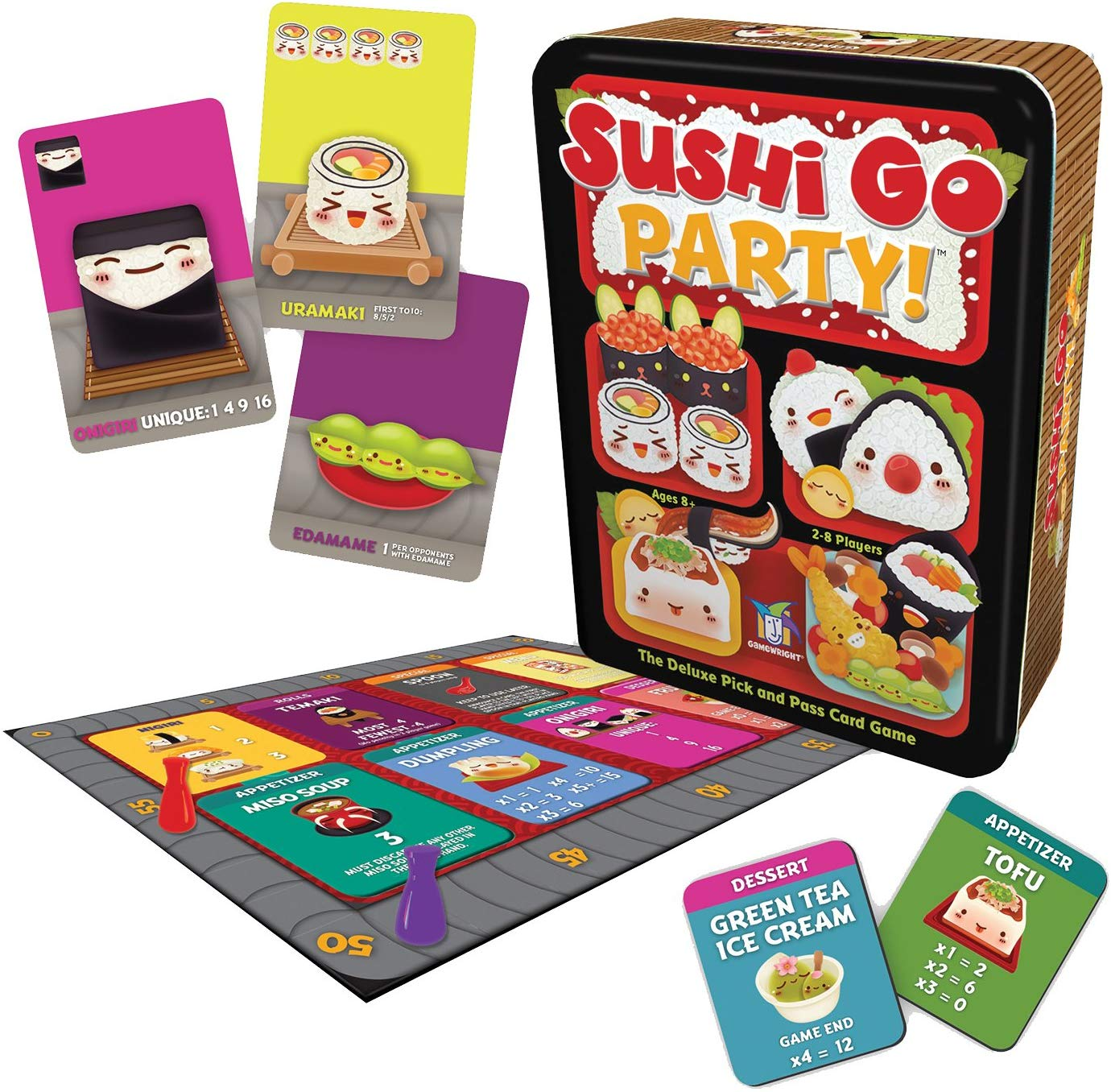 Sushi Go Party! | Sunny Pair'O'Dice