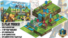 Tiny Epic Tactics - Gamelyn Games | Sunny Pair'O'Dice