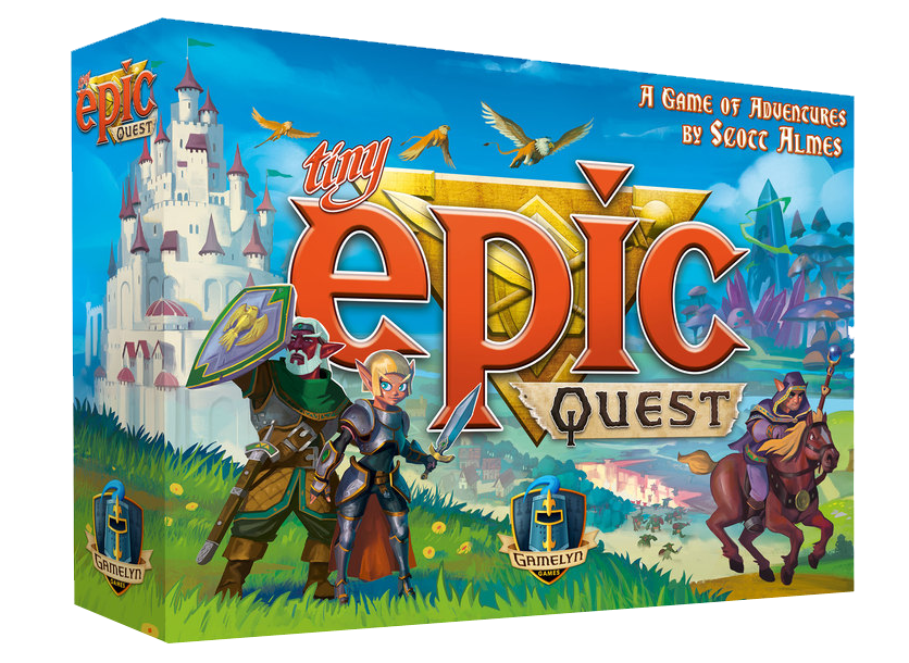 Tiny Epic Quest | Sunny Pair'O'Dice