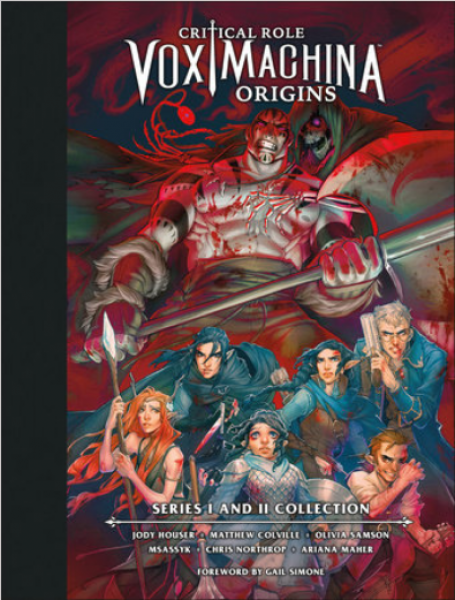 [Pre-Order] Critical Role: Vox Machina Origins Library Edition: Series I & II Collection (Hardcover) | Sunny Pair'O'Dice