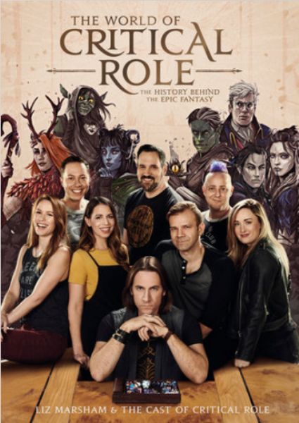 The World of Critical Role (Hardcover) | Sunny Pair'O'Dice