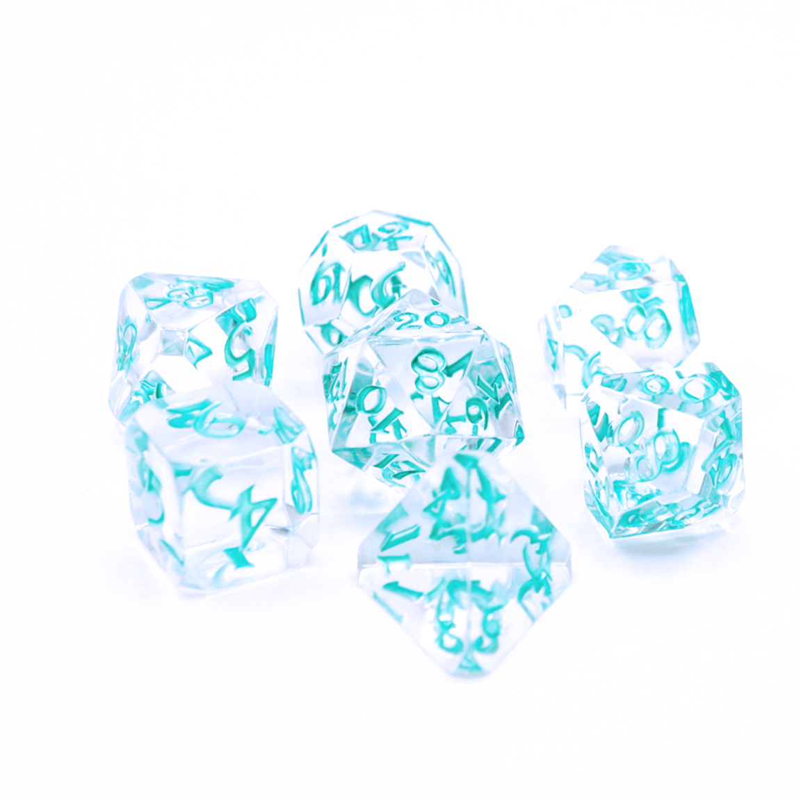 Avalore RPG Set - Isa Restoration - Die Hard Dice | Sunny Pair'O'Dice