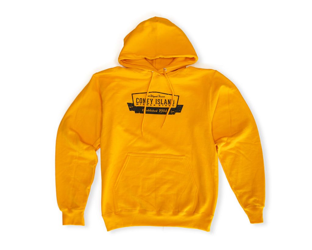 Coney Island Hoodie - Gold