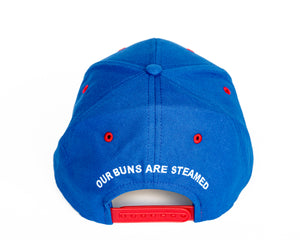 Coney Island Baseball Cap, Blue/Red