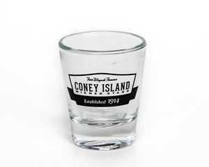 Coney Island Shot Glass
