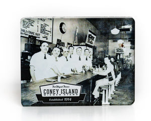 Coney Island Magnet, Vintage Photo circa 1933