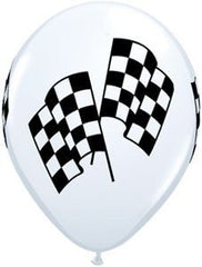 Racing Flags Balloon