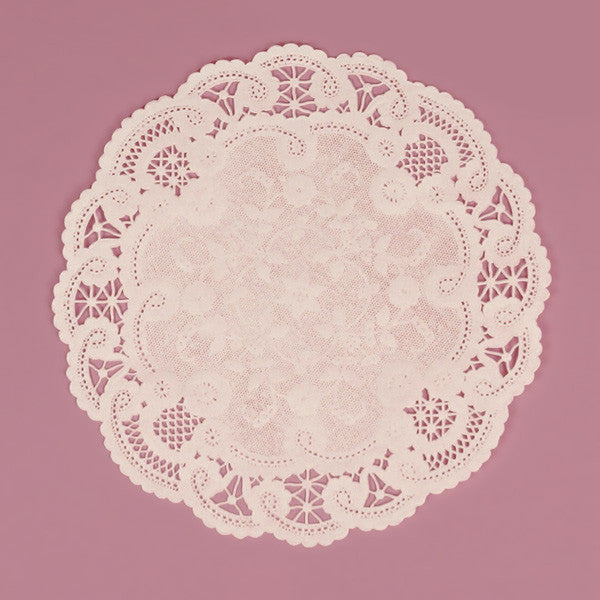 White French Lace Paper Doily