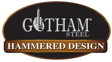 5 PC Gotham Steel Hammered Collection