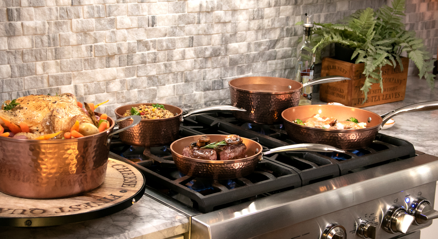Gotham Steel's Hammered Collection | Beautify your kitchen