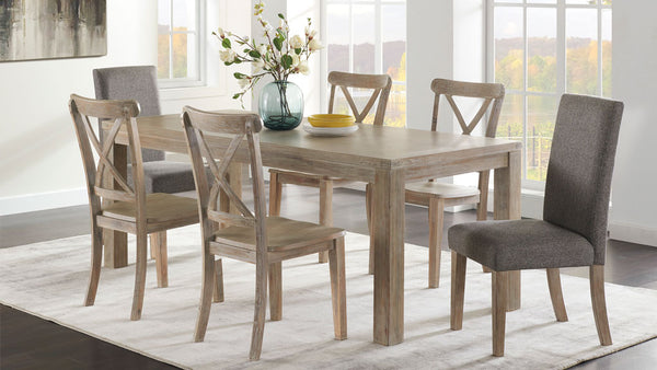 Ambrosch 7 piece dining suite