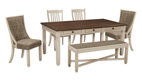 Bolanburg 6 piece dining suite