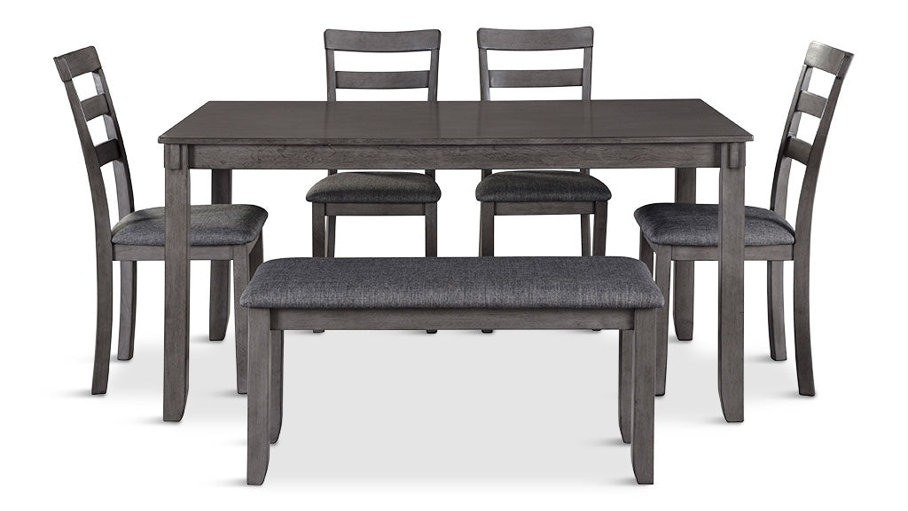 Brison 6 piece dining suite