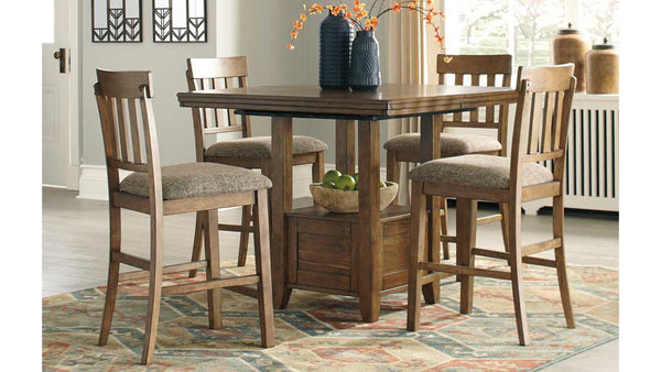 Flaybern 5 piece dining suite