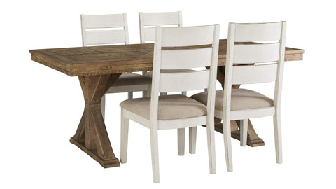 Grindleburg 5 piece dining suite