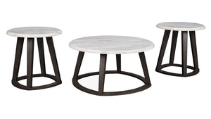 Luvoni 3 piece occasional table set