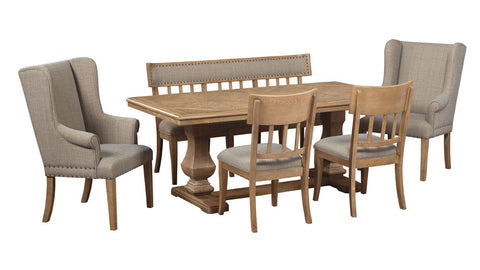 Ollesburg 6 piece dining suite