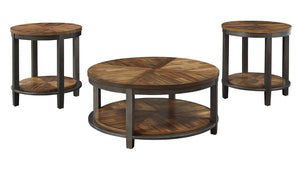 Roybeck 3 piece occasional table set