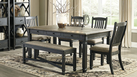 Tyler Creek 6 piece dining suite