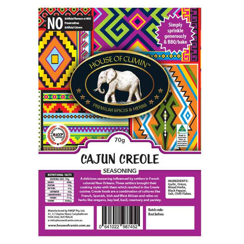 Cajun Creole Seasoning - House of Cumin