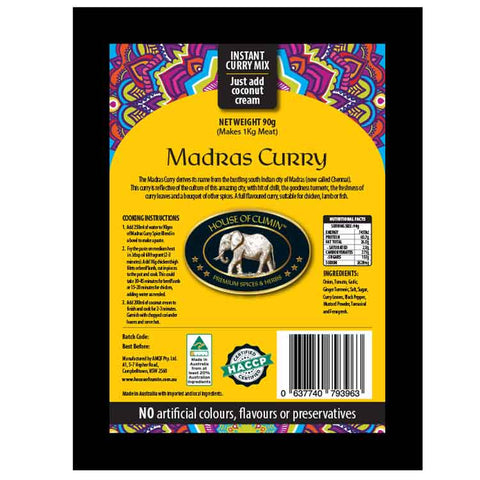 Madras Curry - House of Cumin