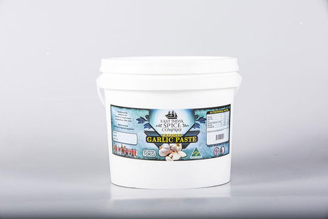 Crushed Garlic Paste 10 Kg Tub - House of Cumin