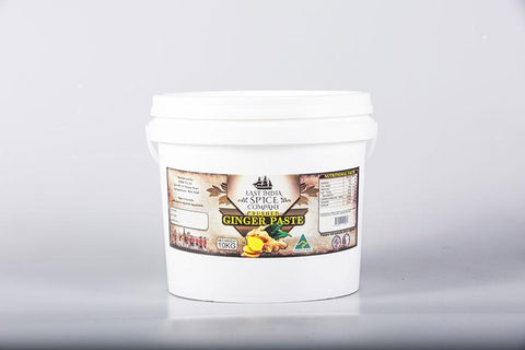 Crushed Ginger Paste 10 Kg Tub