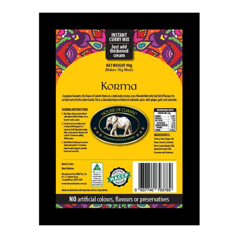 Korma - House of Cumin