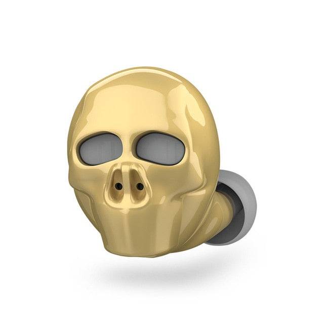 Skull Bone Bluetooth Earphone
