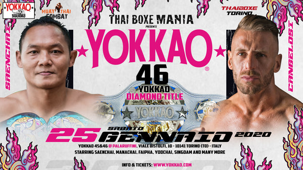 BREAKING: Saenchai vs Cangelosi for YOKKAO Diamond Belt