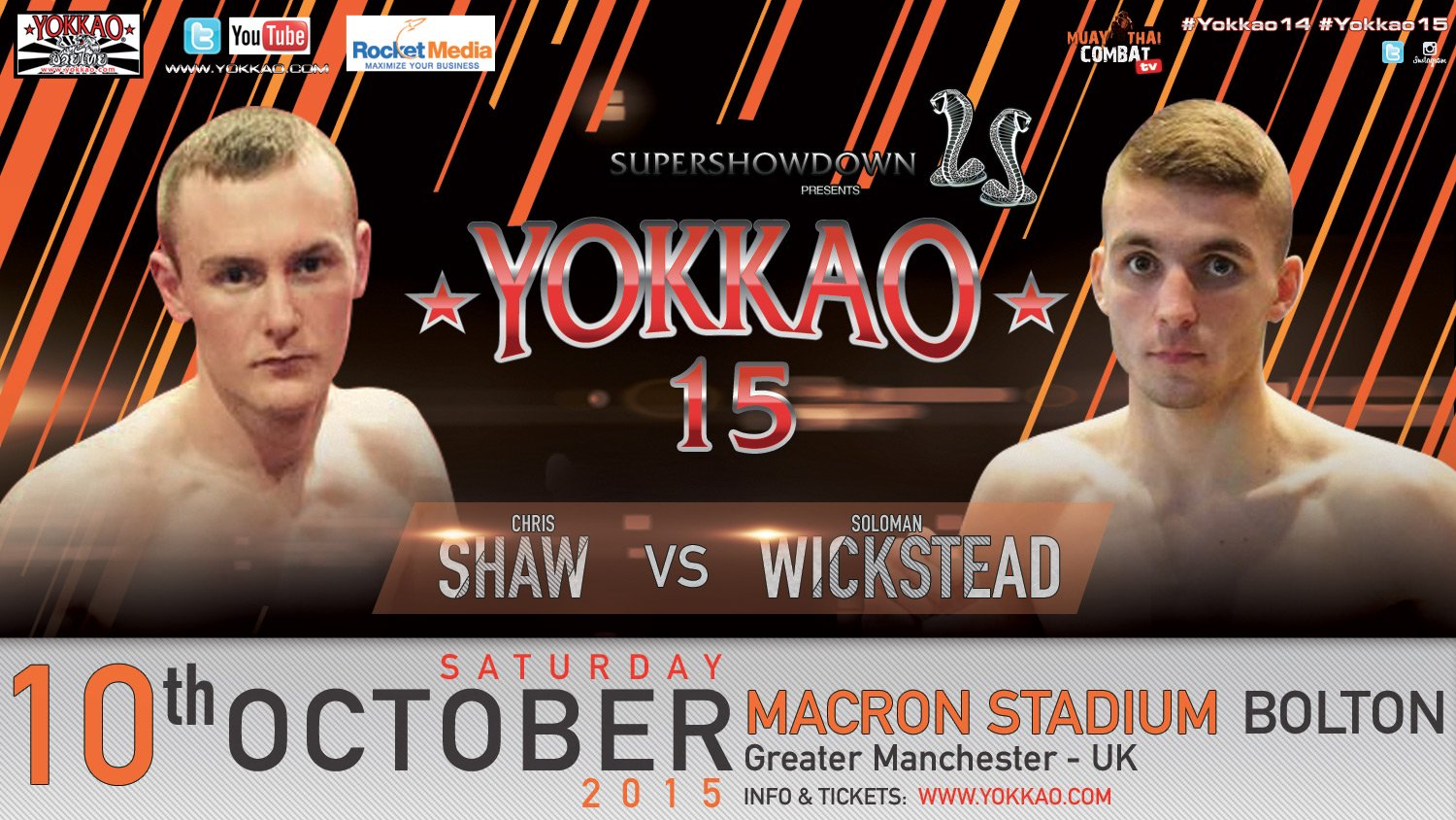 YOKKAO 15 SHAW VS WICKSTEAD