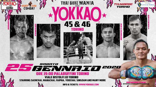 Full Fight Card Announced for YOKKAO 45-46