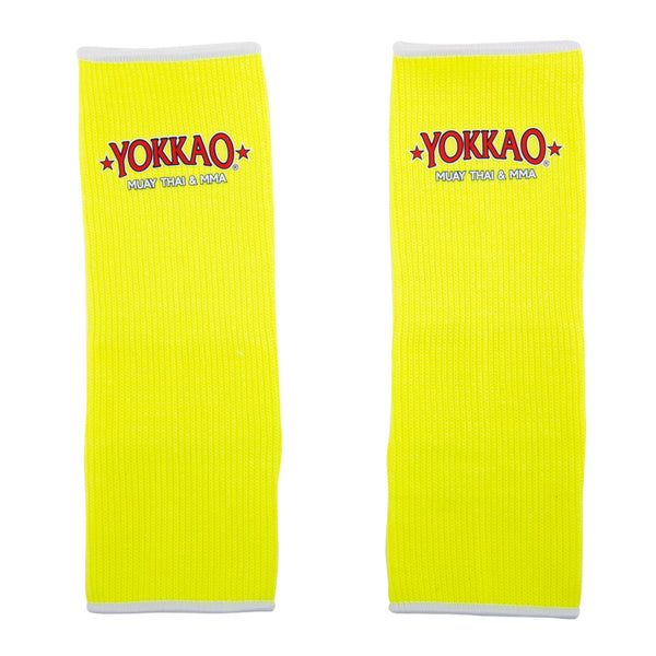 Ankle Guards NEON Yellow For Kids