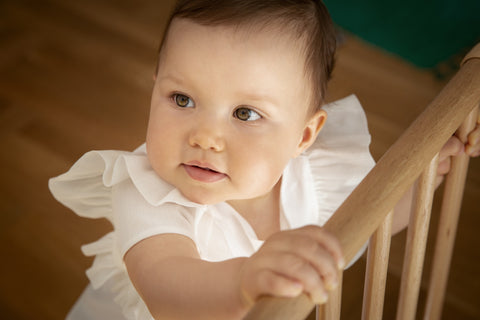 Start babyproofing your house before your child is mobile.