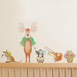 Musical Jimmy and Friends Wall Stickers