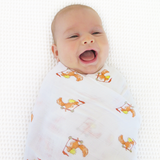 Baby Swaddle - Sammy Squirrel