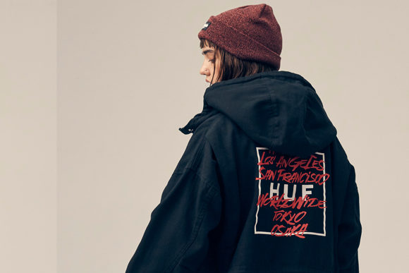 HUF FALL 19 WOMEN'S COLLECTION LOOKBOOK