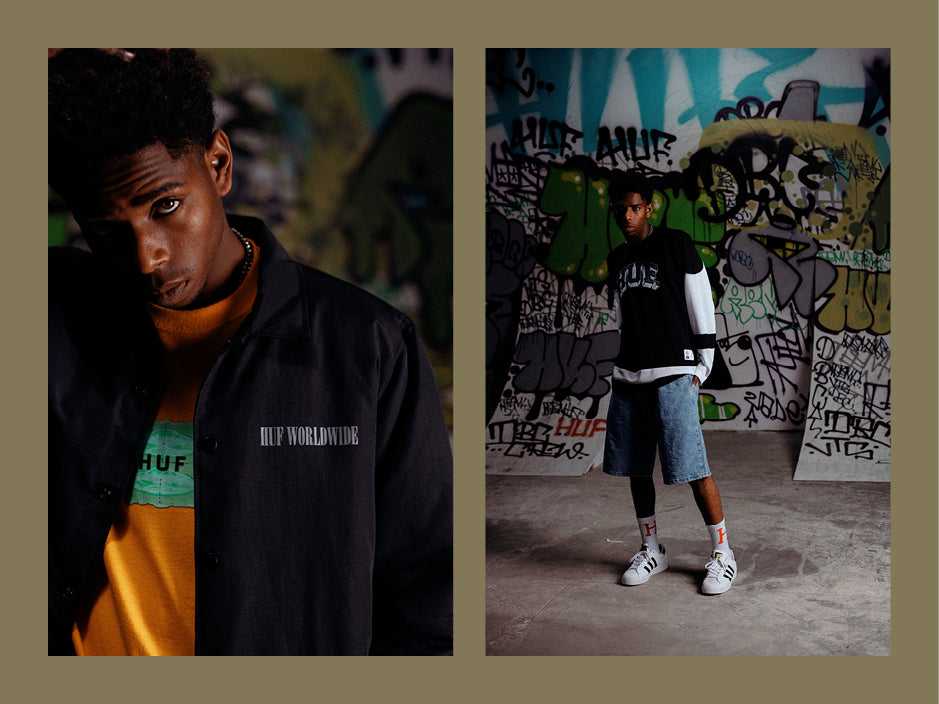 HUF HOLIDAY 20 LOOKBOOK