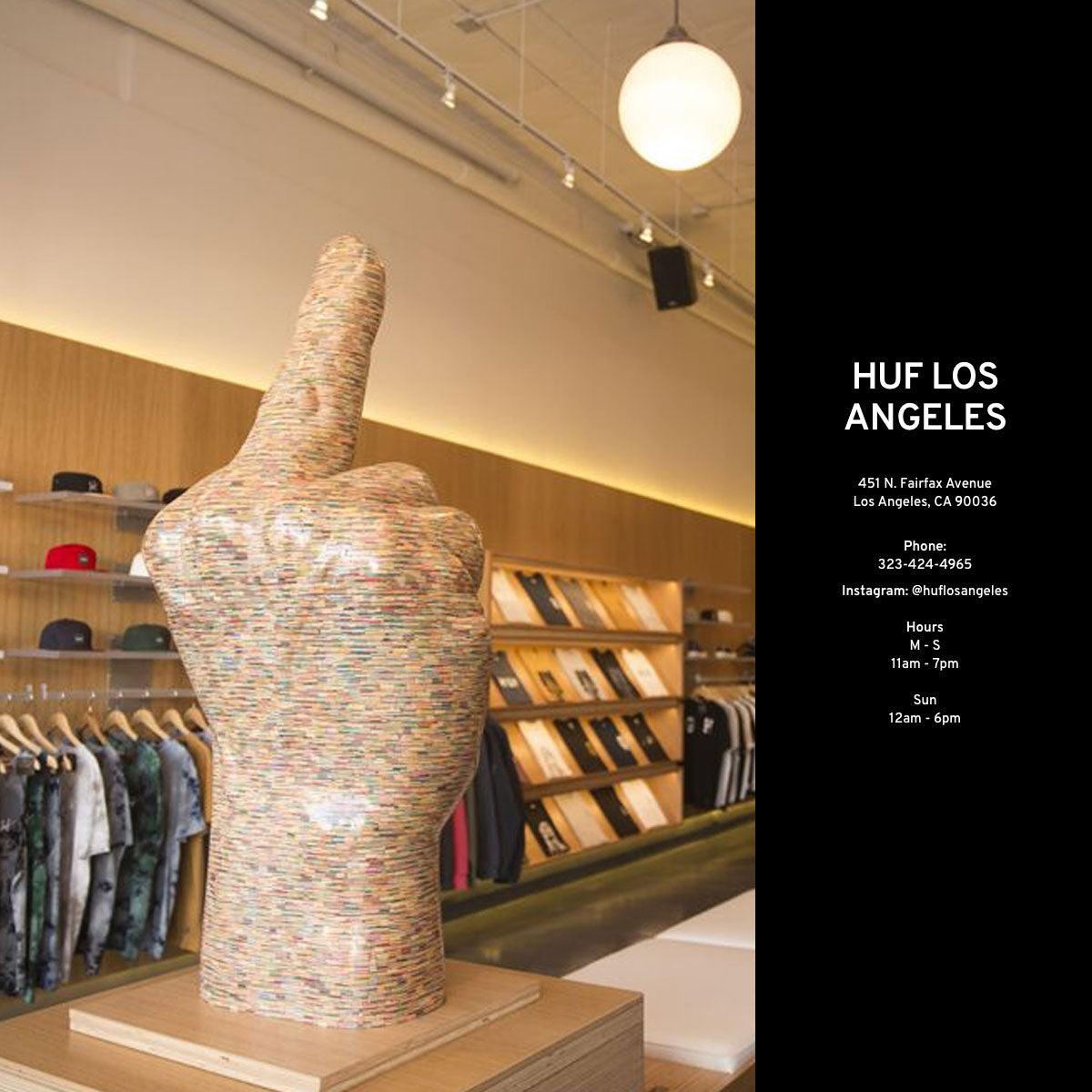 HUF Store Profile - Los Angeles