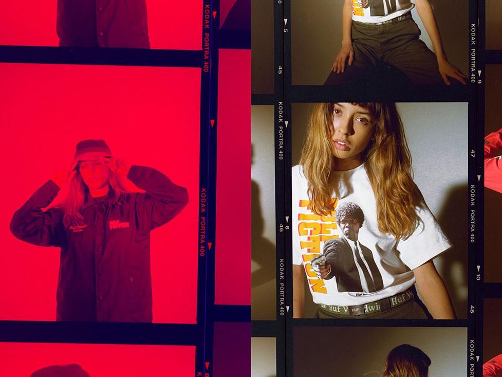 HUF X PULP FICTION LOOKBOOK 3