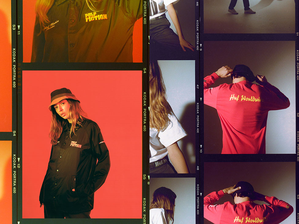 HUF X PULP FICTION LOOKBOOK 4