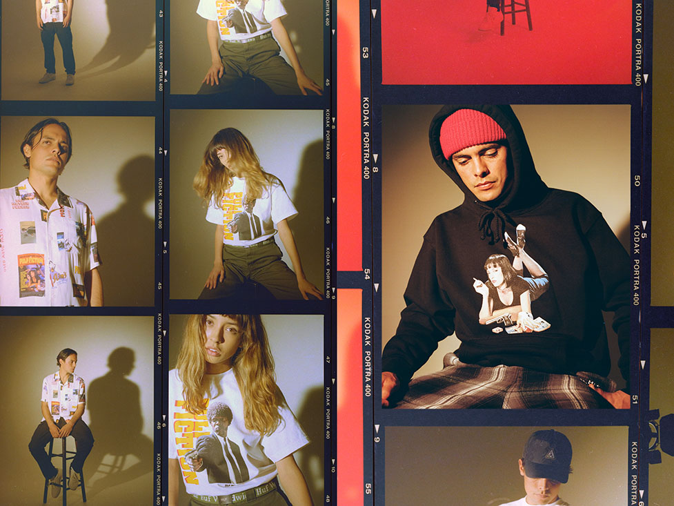 HUF X PULP FICTION LOOKBOOK 5
