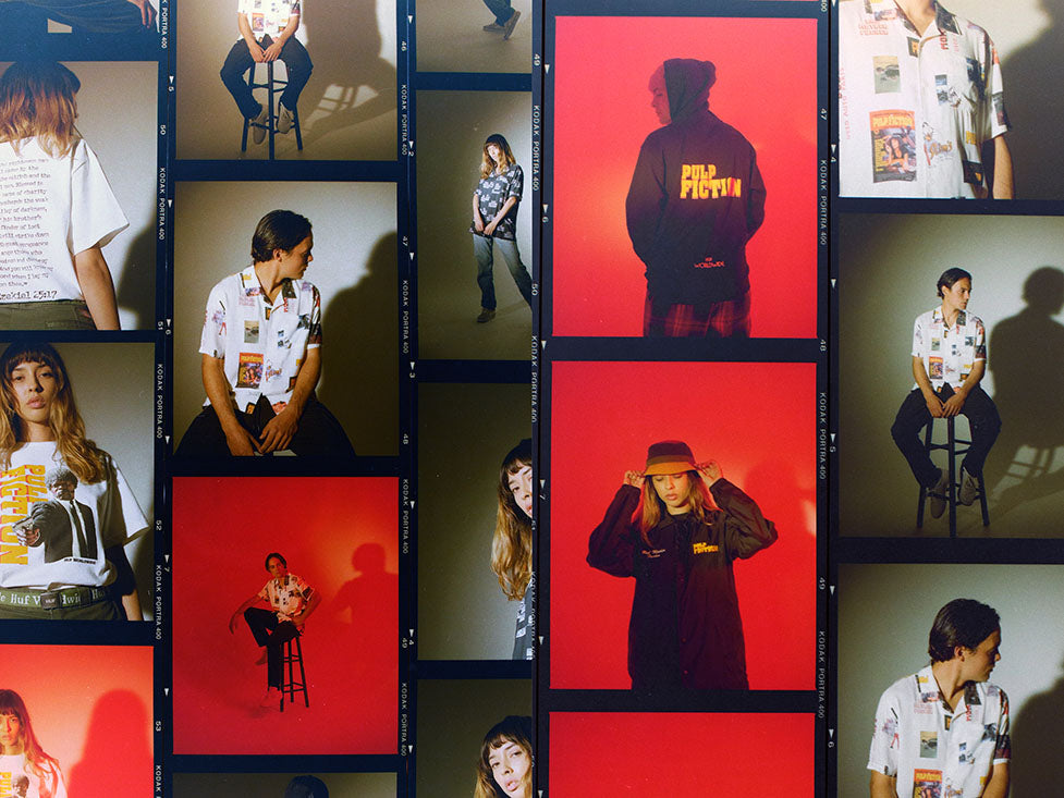 HUF X PULP FICTION LOOKBOOK 7