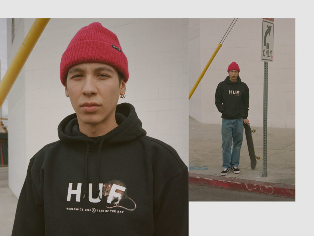 HUF YEAR OF THE RAT LOOKBOOK 1