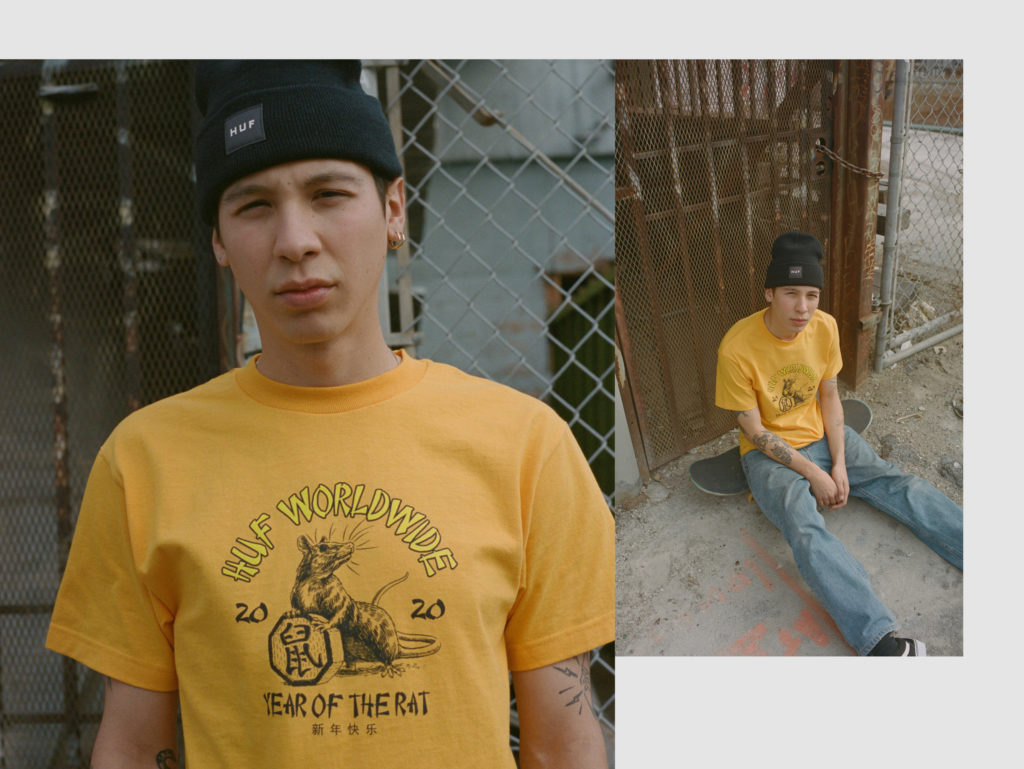 HUF YEAR OF THE RAT LOOKBOOK 2