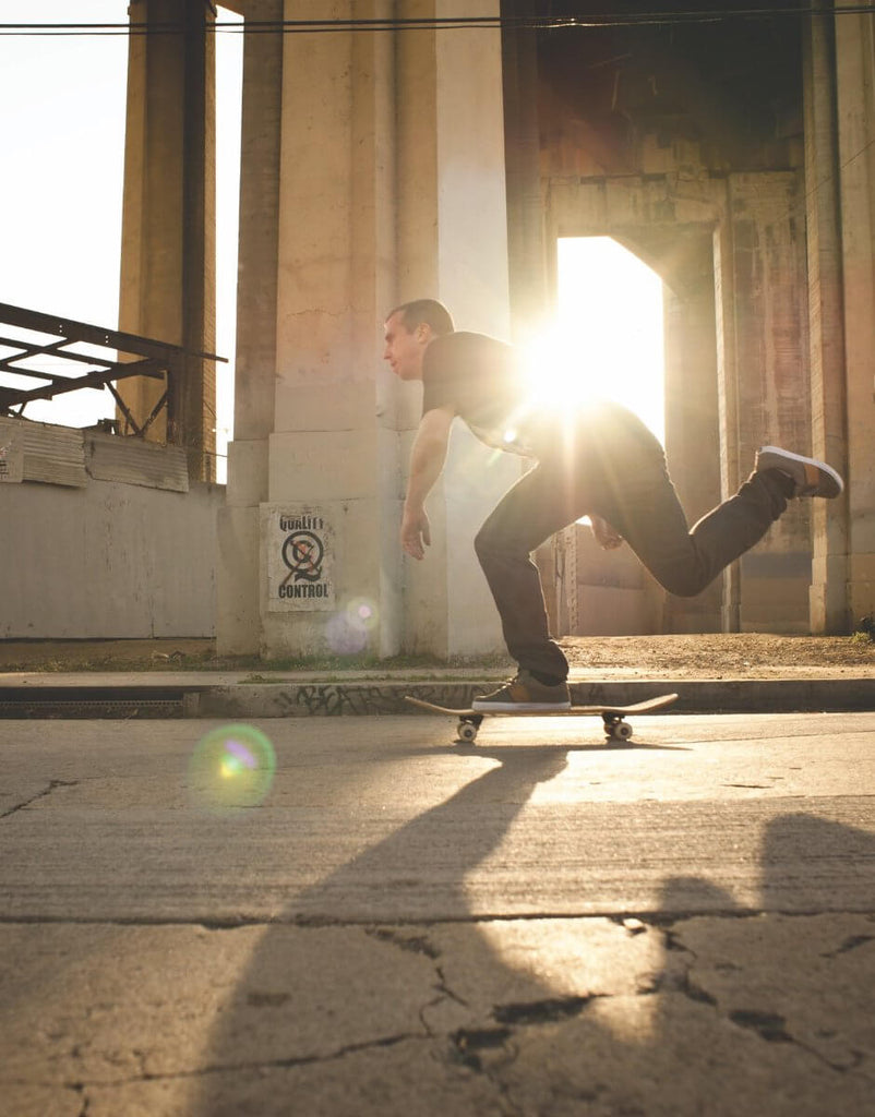 Keith Hufnagel Sunset Push - HUF Skateboarding UK
