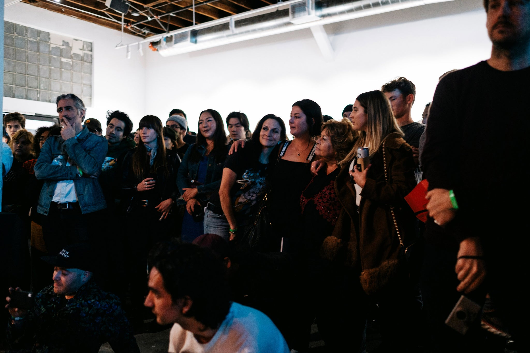 dylan rieder exhibition crowd