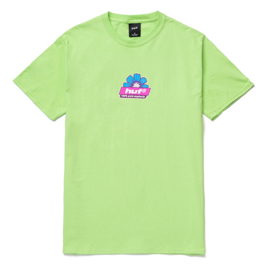 Huf 100% PURE T-Shirt Lime