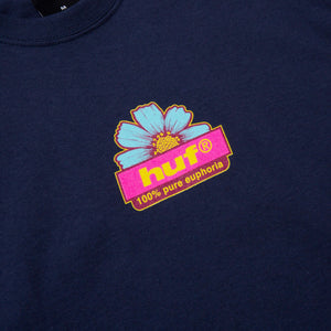 Huf 100% PURE T-Shirt Navy